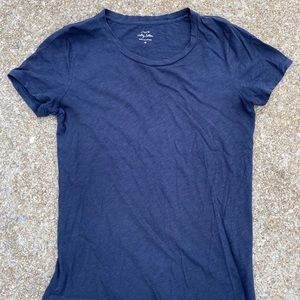 J. Crew vintage cotton top, navy